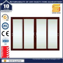 2016 Australian Standard Double Glazing Aluminum Sliding Door