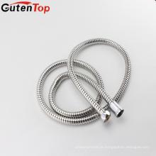 Mangueira de metal flexível de água quente de tubulação de aço inoxidável de alta qualidade GutenTop com conector