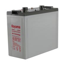 Batería estacionaria del gel de la calidad 2v excelente para el sistema solar-2V800AH de Powr