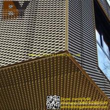Aluminium erweiterte Metallfassaden Dekorative Metall Mesh