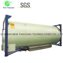 Liquid Chlorine Filling Medium Cryogenic Tank Container