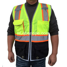 Multi-pocket vest reflectie vest vest vest