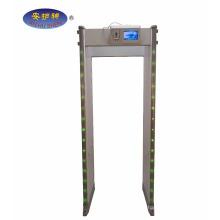 Caminhada da arcada da segurança de 45 zonas através da porta do detector de metais