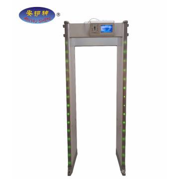 45 Zonen Sicherheitstorbogen Spaziergang durch Metalldetektor Tor
