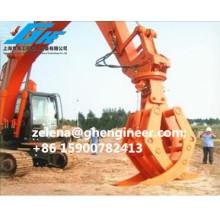 High Working Efficcient Excavator Grab for Log Steel Coal Sand