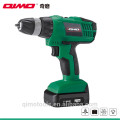 qimo mini drilling tools replacement lithium battery for cordless drill motor 1011B 10.8v/12v 10mm Two speed