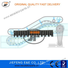JFThyssen серый эскалатор Step Cleat L47332155A Разграничение ступеней эскалатора