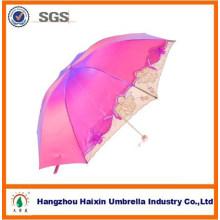 China atacado chinês 3 dobrável chinês sol guarda-chuva
