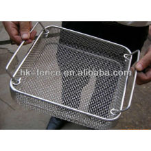 high quality disinfect basket/metal basket/stainless steel wire basket