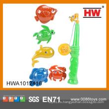 Juguete barato al por mayor juguete plástico cañas de pescar