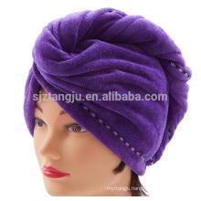 Magic microfibre hair drying towel hair turban for women
