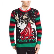 A vida dos homens da camisola feia do Natal de PK1871HX do partido