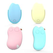 chauffe-mains usb 2-en-1 banque de puissance 5200 mah batterie rechargeable poche usb portable chargeur de téléphone portable