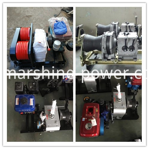 Wire Rope Lifting Winch