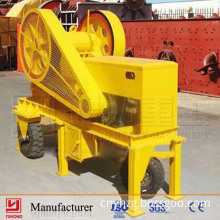 Yuhong Small Portable Rock Jaw Crusher with CE Approved