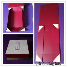 Boîte pliante avec fenêtre / fenêtre pliante (MX048)