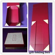 Caixa dobrável com caixa de janela / janela dobrável (MX048)