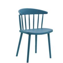 Atacado barato boa qualidade antigo empilhável plástico oco restaurante cadeira de jantar