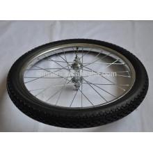 Rodas de carro de cachorro-quente de aço pneumático 20x2.125