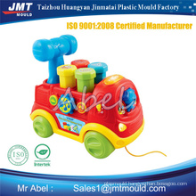 plastic toy car train brick child baby toy mould