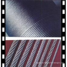 Cuerda de alambre galvanizada 6X12 + 7FC