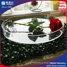Round Clear Acrry Fruit Food Tray