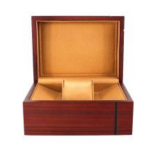 Boîte d'emballage en bois pour montre élégante