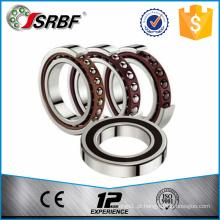 Feito na China rolamento de esferas de contato angular de gaiola de precisão