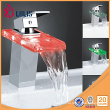 Grifo de cristal latón grifo de agua marca (YL-8009)