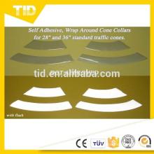Colliers de cône de signalisation réfléchissants (bandes, manchons)