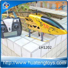 Las ventas calientes 3,5 canal de aleación de oro RC helicóptero uav con girocompás