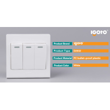 Igoto 3 Gang British Standard Sockets Fabricants et Commutateurs