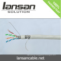 Lansan sftp cat6 full copper lan cable 23awg 305m BC pass fluke test good quality and factory price