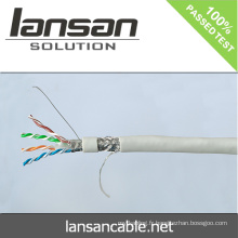 Lansan 4 paires sftp cat6 cable 305m 23awg BC pass didactique bonne qualité et prix d'usine