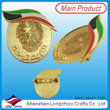 UAE Dubai Badge with Safety Pin