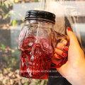 Vidrio de la forma del cráneo Jarro de Moson para beber la taza o la taza con el casquillo