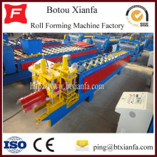 Automatic Ridge Cap Roll Forming Machine Parts Machine