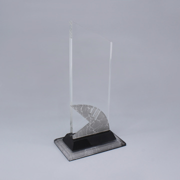 Benutzerdefinierte Crystal Engraved Awards