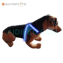 LED Flashing Reflective Harness Vest For Dog