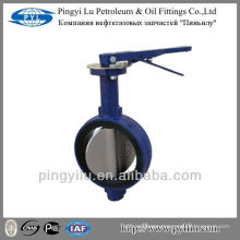Standard ductile iron central line butterfly valve dn80