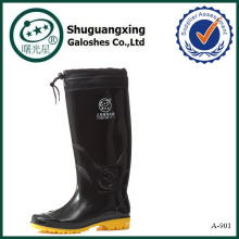 chaussures pour la pluie en plastique bottes de pluie hommes A-901