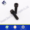 hardware supplier carbon steel zinc plated hex socket screw