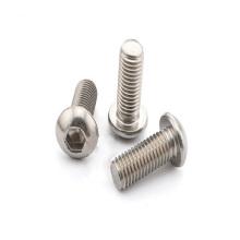 Parafusos de cabeça de botão de aço inoxidável M3x6mm