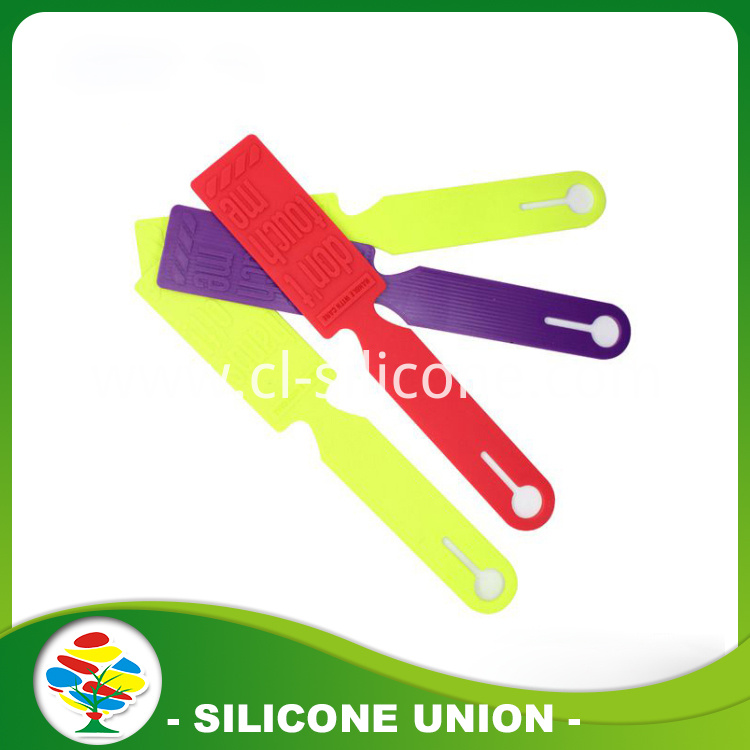 New style silicone luggage tag