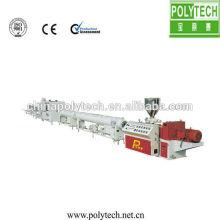 Faible consommation /taille sortie ligne d'Extrusion de Pipe en plastique UPVC/CPVC/PVC Production
