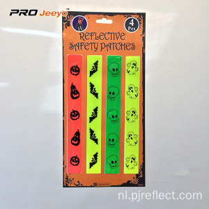 Reflecterende Halloween-kinderveiligheidssticker