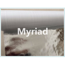 Metalized building material Aluminum foil woven fabric coated PE insulation foil