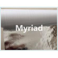 Metalized building material Aluminum foil woven fabric coated PE insulation foil