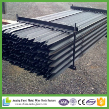Schwarzes Pinted Steel Star Picket