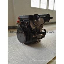 Motor diesel industrial de cilindro duplo V 20 HP (2V870)